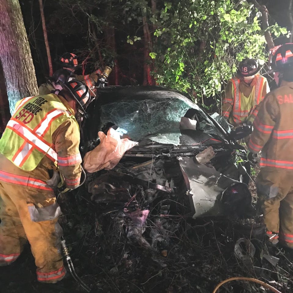 Salisbury Bypass crash: One person was trapped in vehicle, one ejected