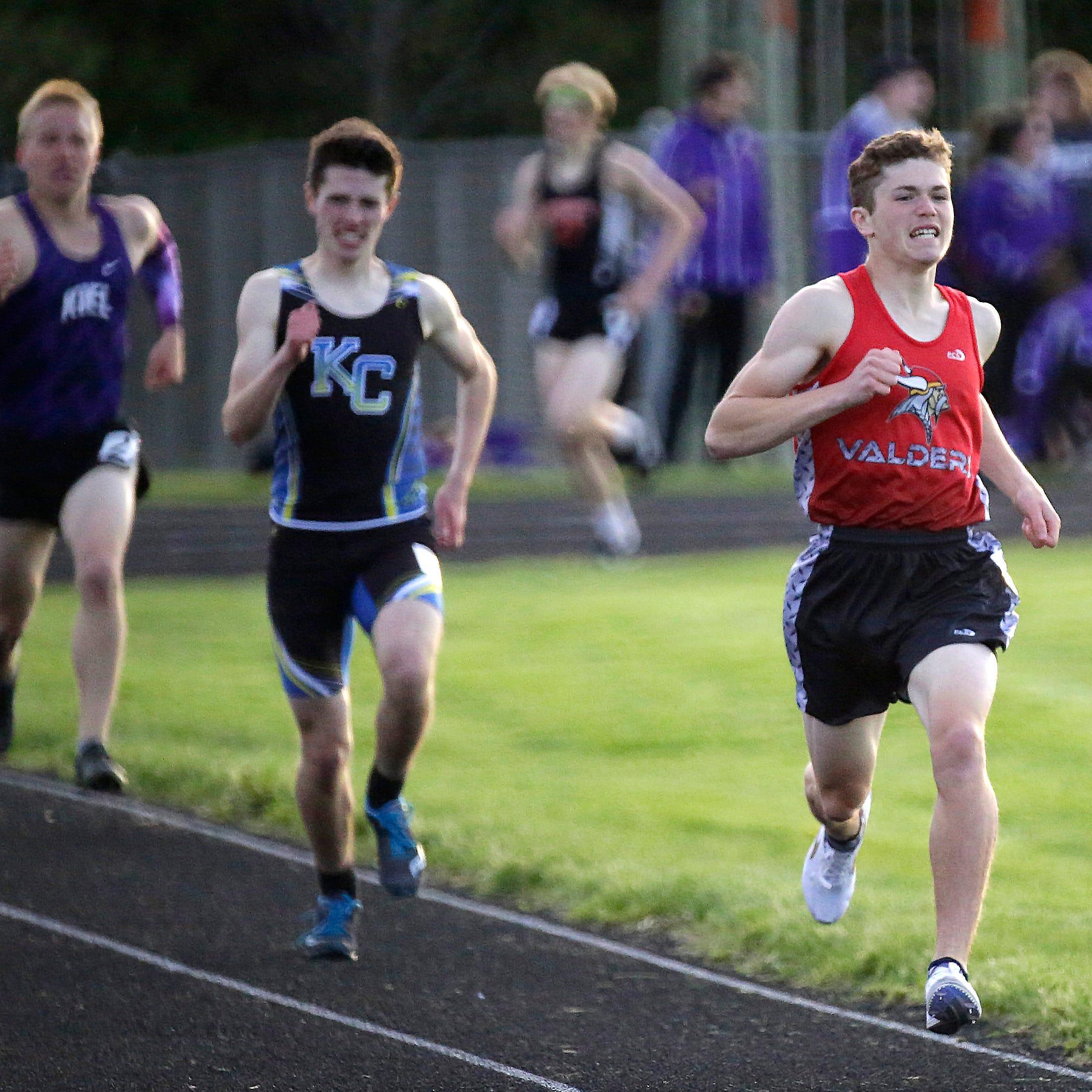 High school: Monday's track regionals