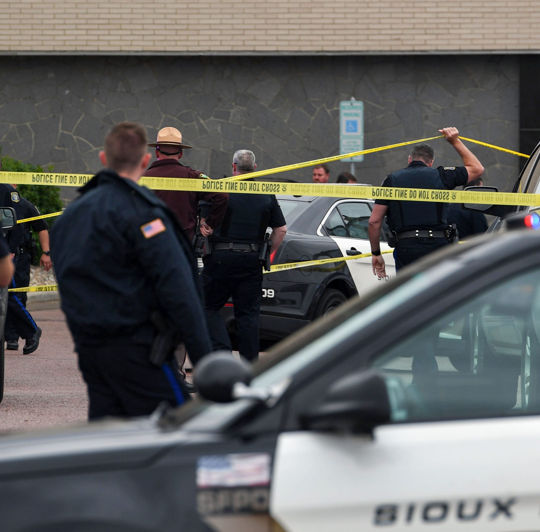 Update: Authorities have identified suspect in Sioux Falls officer-involved shooting