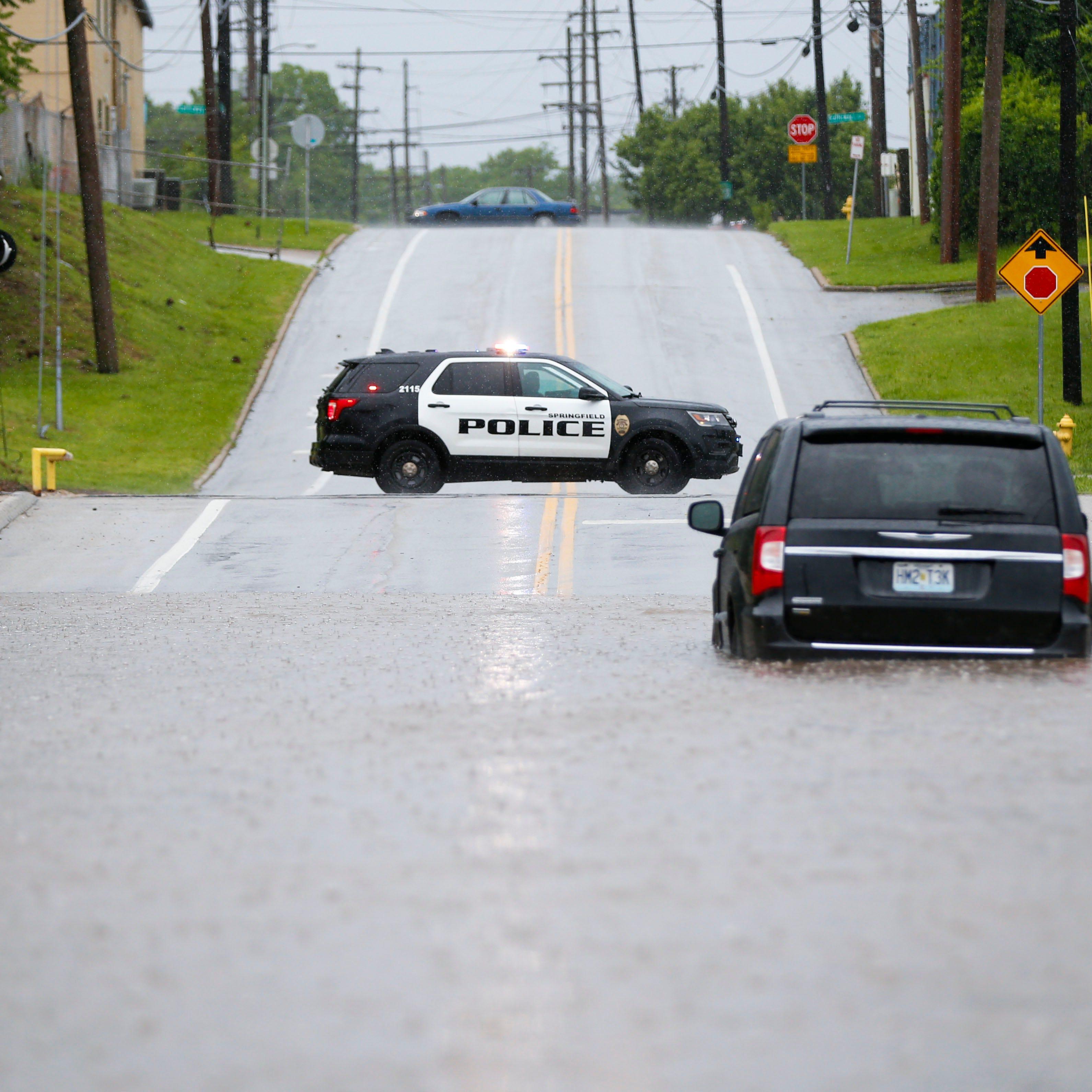 Tornado, flooding reported as storm moves through Ozarks