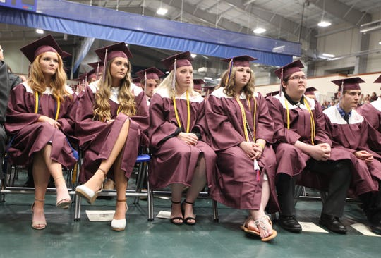 Stuarts Draft High School held its 49th commencement at Eastern Mennonite University in Harrisonburg on Monday, May 20, 2019.