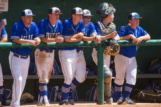 The Dixie Flyers fell short of a third consecutive state title with a 16-3 loss to Desert Hills in the 4A state championship game.