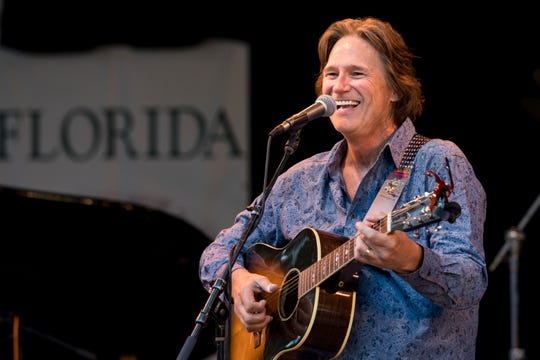 Billy Dean performs during the Florida Folk Festival Friday at Stephen Foster State Park in 2017. He's in the lineup to perform this year.