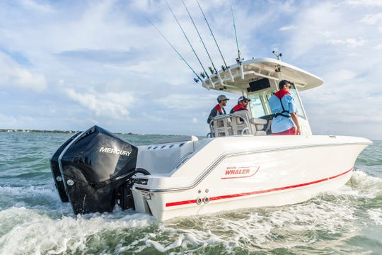 Boston Whaler, one of the most recognizable boat brands in the U.S., is one of 15 boat lines manufactured under the Brunswick corporate umbrella.