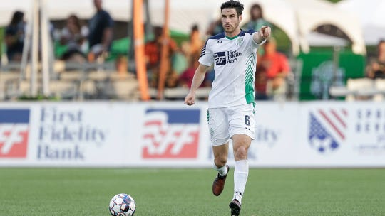 Defender Drew Beckie joined El Paso after playing for the OKC Energy