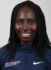 Lillian Koech will run the 800 meters at the NCAA track and field championship preliminaries this weekend in Sacramento