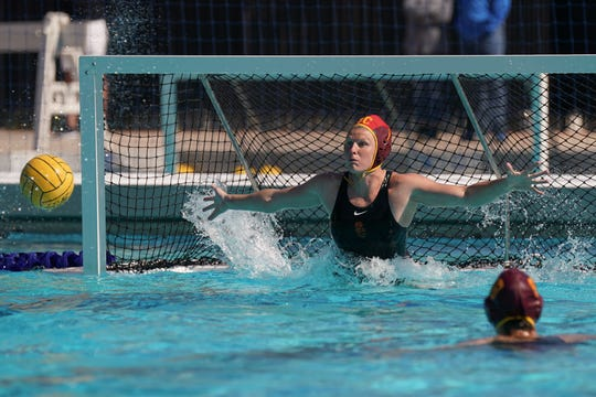 Oaks Christian graduate Amanda Longan finished her USC women's water polo career with the 850 saves, the second most in program history.