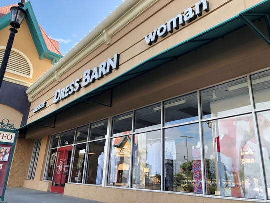 Dressbarn, located at the Tulare Outlets will close later this year.
