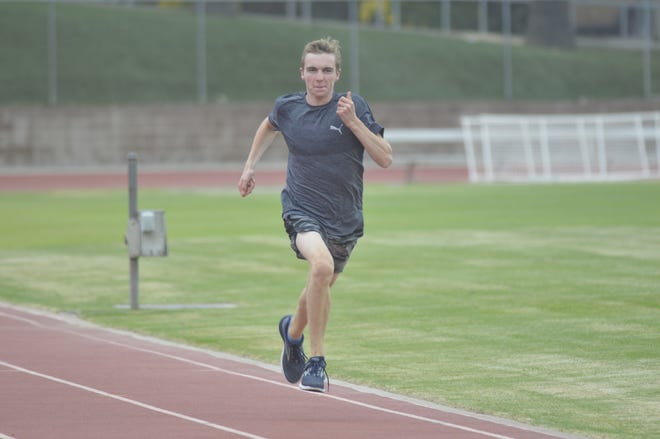 Redwood's Ryan Hemphill is the 2019 Central Section champion in the boys 800 meters. He will be competing this weekend at the 101st CIF State Track & Field Championships in Clovis.