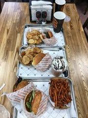 Burgerim specializes in mini burgers.
