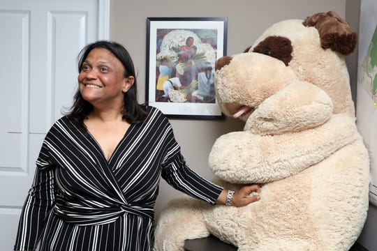 Elizabeth Santiago, executive director of the Center for Safety & Change, in her office May 21, 2019 in New City.