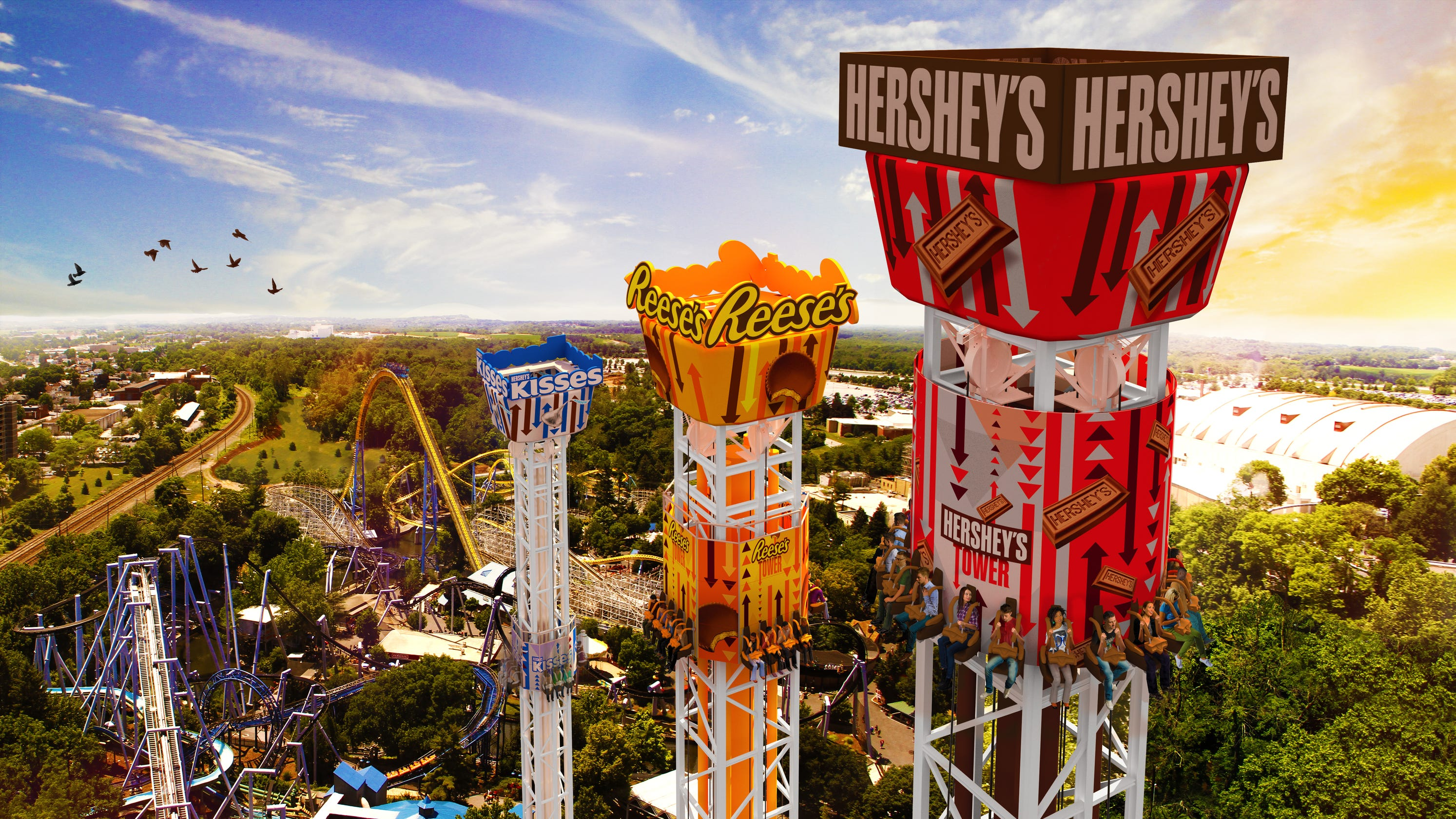 Summer fun: 12 amusement parks for the whole family, in