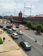 A portion of the construction near Wilmington's train station should be coming to an end in May.