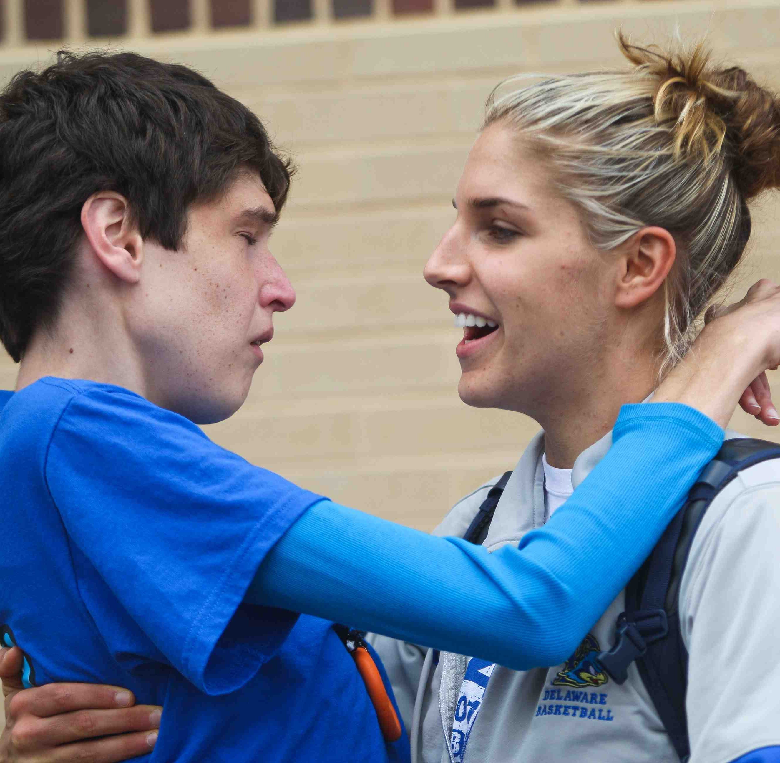 Elena Delle Donne on becoming sister Lizzie's caretaker: 'She'll be with me'
