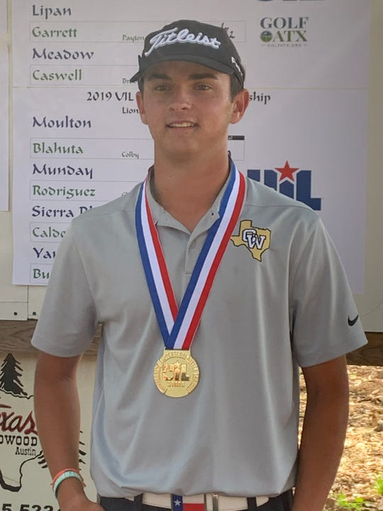 Crowell's Seth Bearden is the Class A boys state champion for a second year in a row.