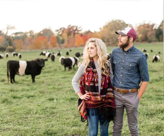 Emily and Levi Powers, of Alden Hills Organic Farms, provide high-quality pastured meats on their organic farm in Walworth.