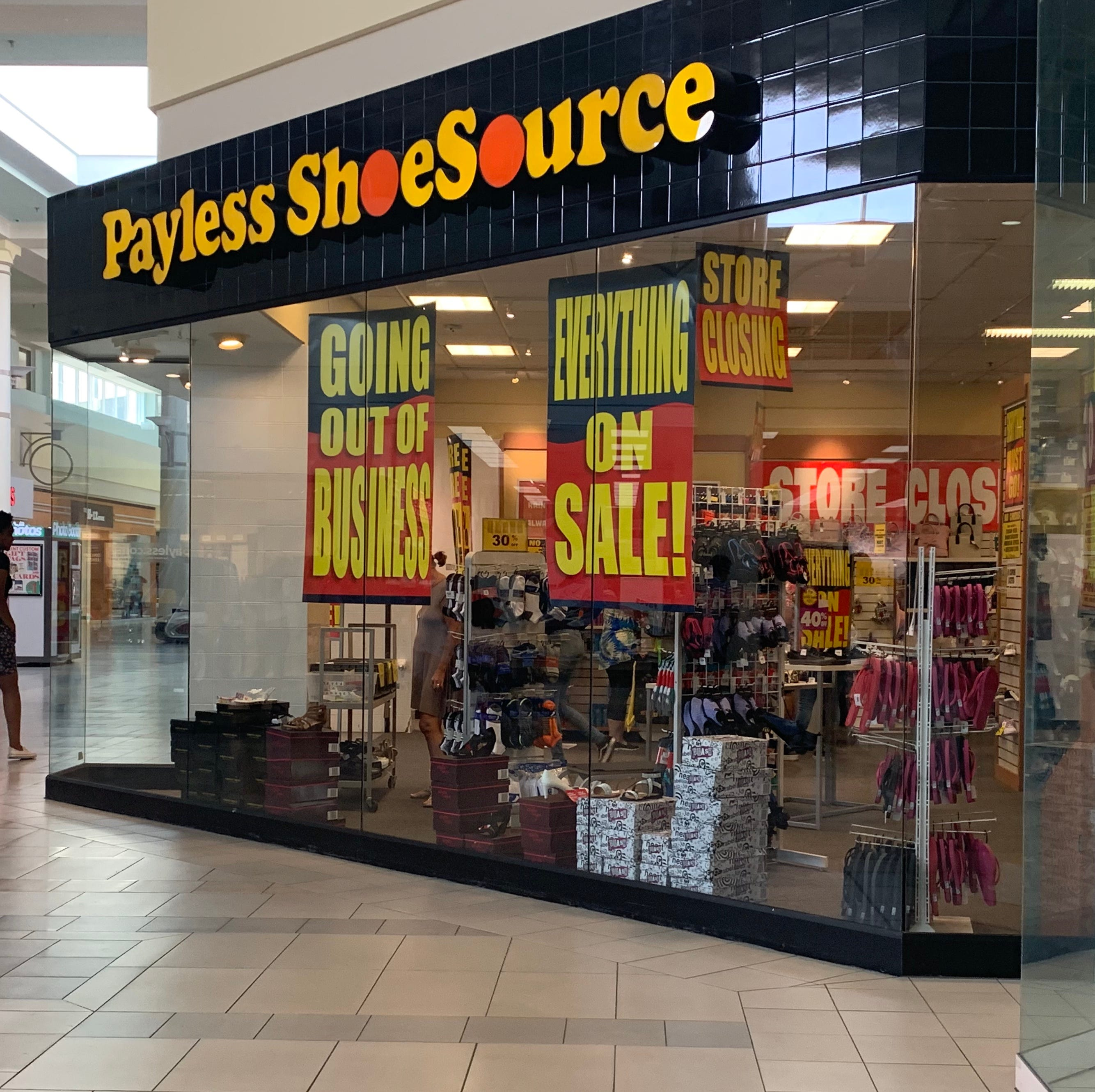 All Payless Shoes, Dressbarn locations closing soon in Evansville