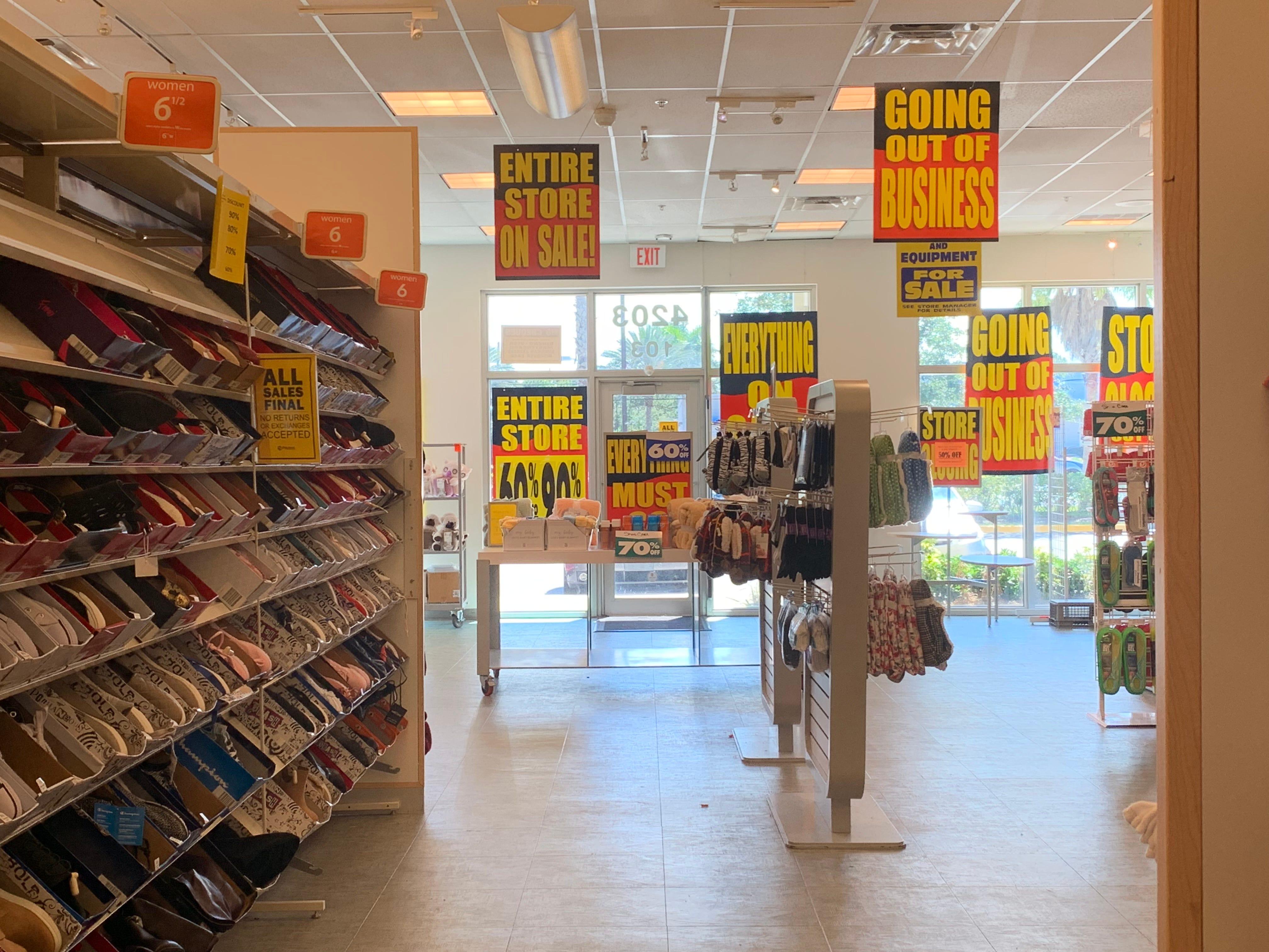 Payless Shoes closing 2019: All US