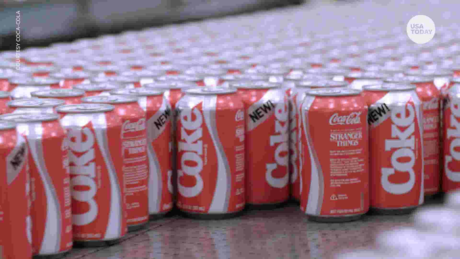 New Coke is back for limited time thanks to 'Stranger Things'
