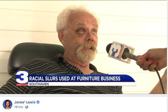 'Yes ma'am, I used the N-word': Mississippi store owner admits on camera to racial slur
