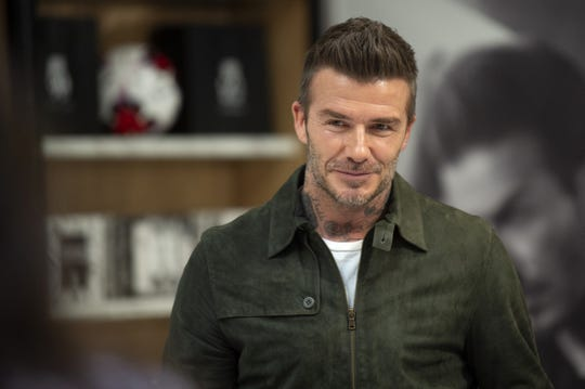 PARIS, FRANCE - MAY 21: David Beckham celebrates House 99 at Galeries Lafayette Champs-Elysees on May 21, 2019 in Paris, France. (Photo by Aurelien Meunier/WireImage) ORG XMIT: 775344438 ORIG FILE ID: 1150748336