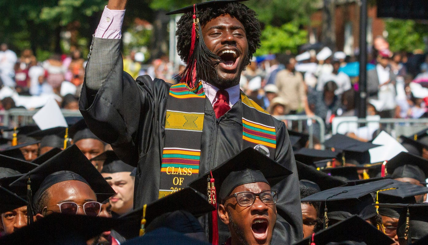 Robert F Smith takes on Morehouse college student's $100K in loans