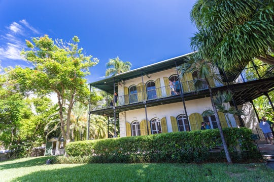 The Ernest Hemingway Home & Museum is a National Historic Landmark where you can take a tour, snap photos next to his typewriter and say hello to the famous six-toed cats.