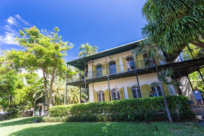 The Ernest Hemingway Home & Museumis a National Historic Landmark where you can take a tour, snap photos next to his typewriter and say hello to the famous six-toed cats.