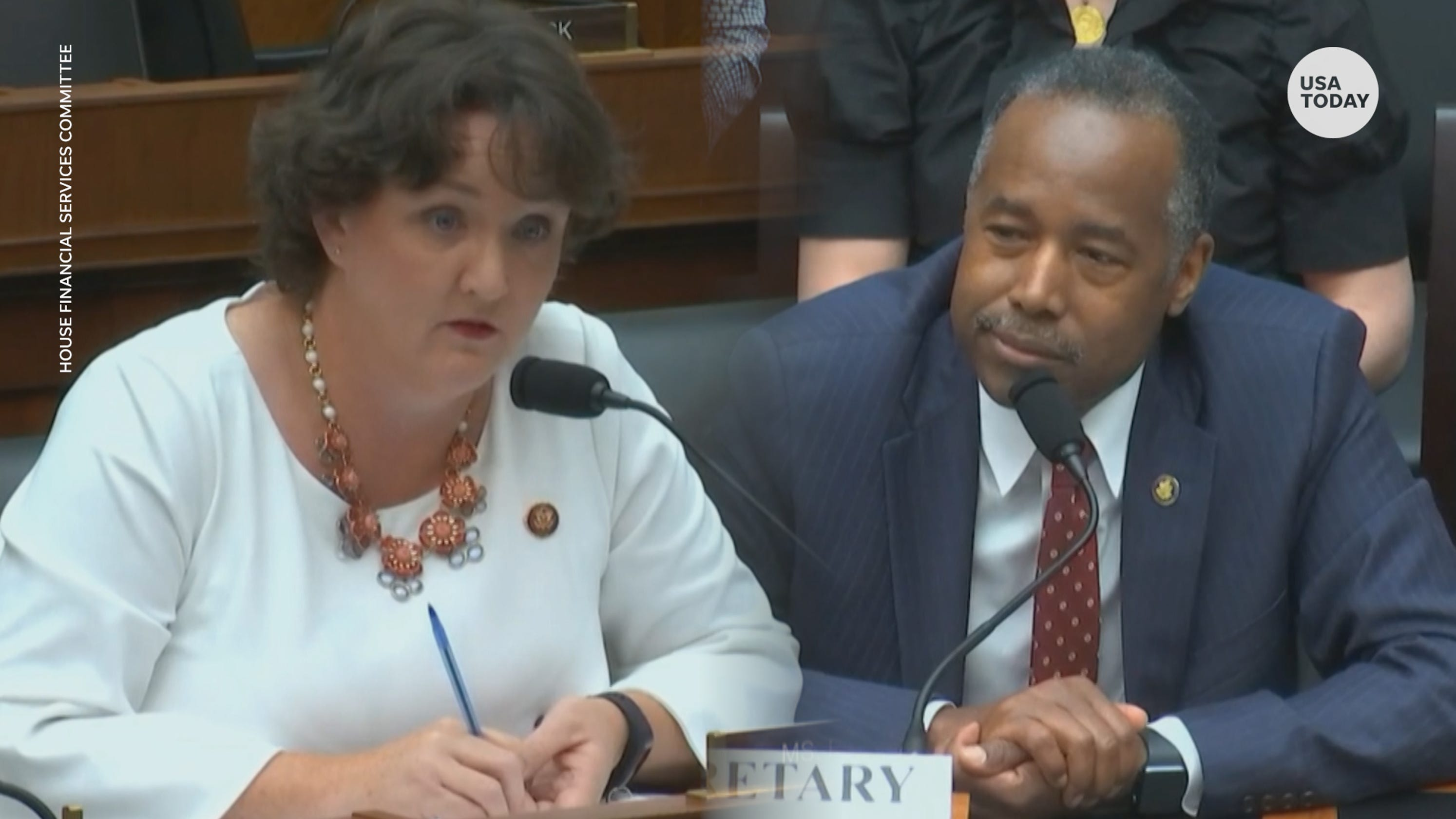 Carson says he had 'difficulty hearing' during viral Oreo testimony, defends HUD proposals