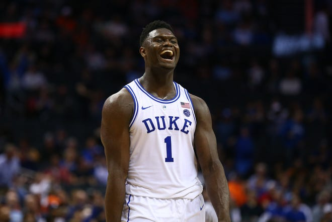 Duke Blue Devils forward Zion Williamson.