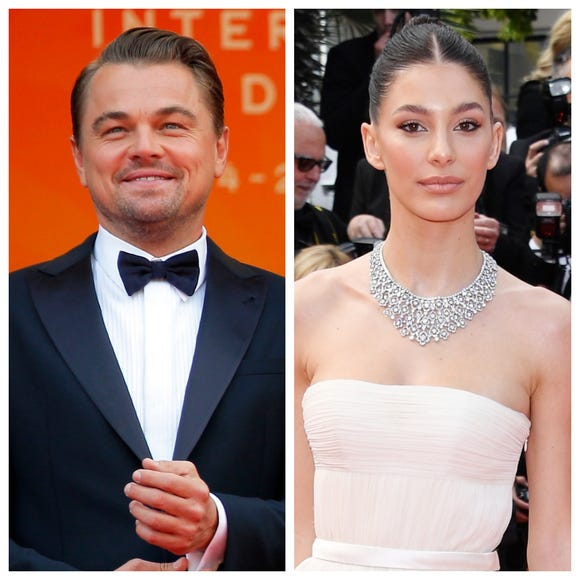 Leo DiCaprio's girlfriend, 21-year-old Camila Morrone, joins him at Cannes premiere