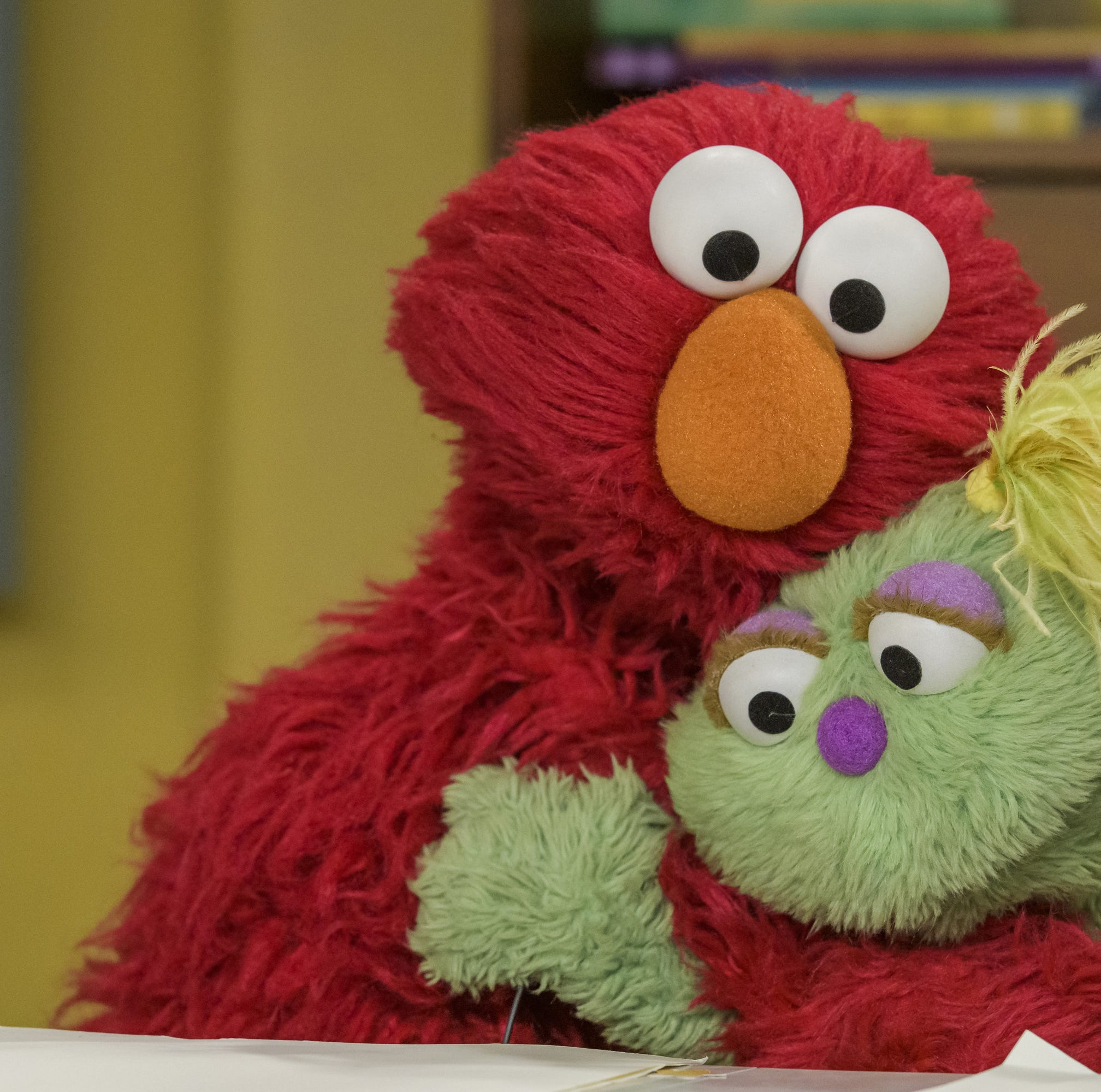 Elmo and Karli on 'Sesame Street'