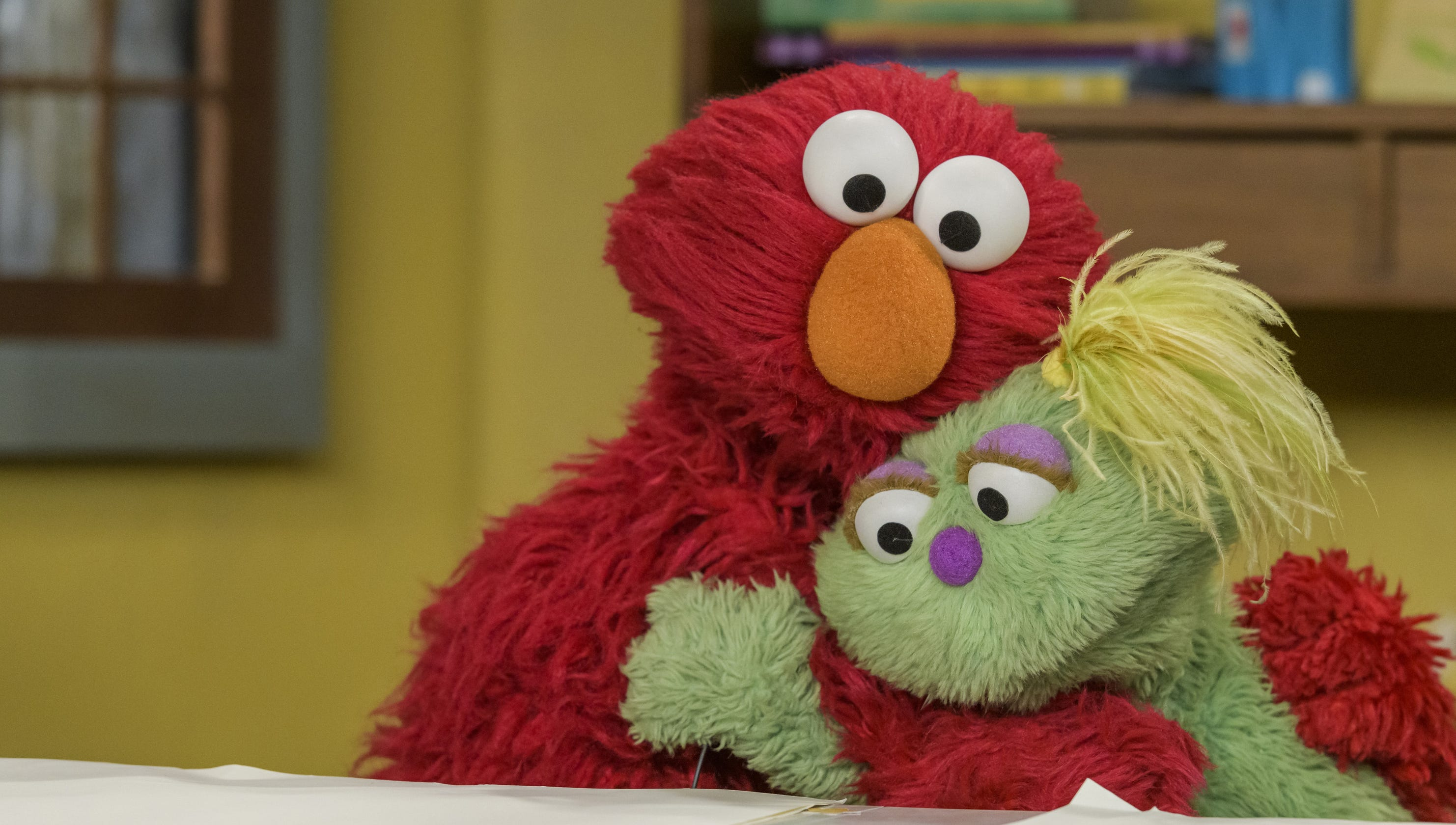 Sesame Street' introduces Karli, a Muppet in foster care