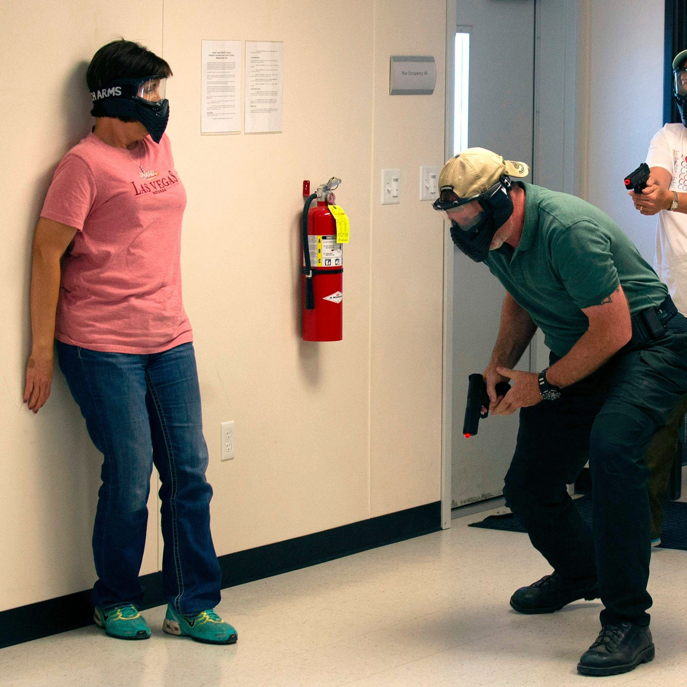 My school's lockdown drills, active shooter training are security theater. Yours are, too.