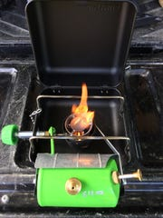 The stove is easy to use but first-time users should read the instructions.