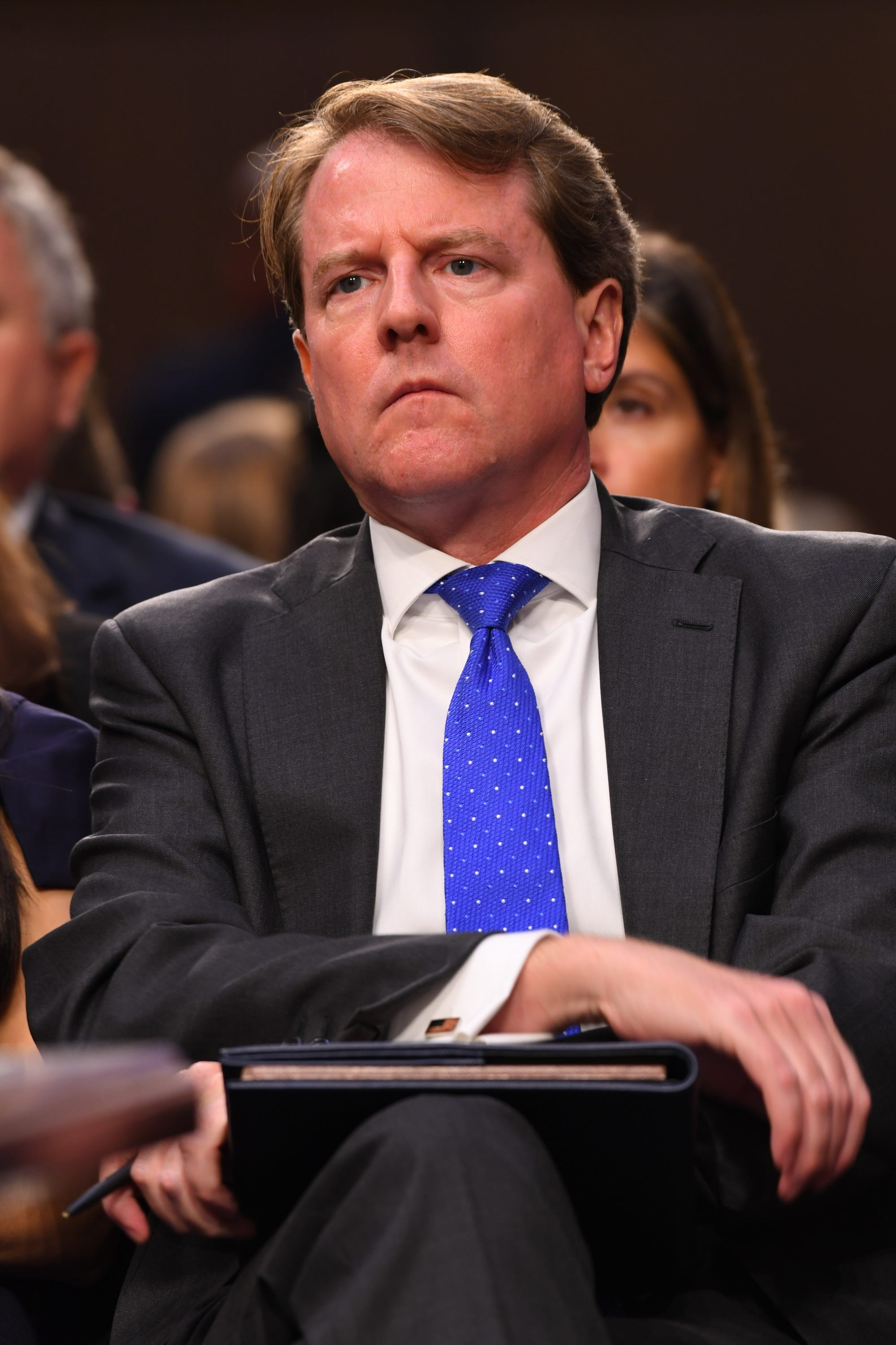 Trump Justice Department subpoenaed info from White House counsel Don McGahn s Apple account: report