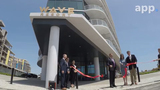 The Wave Resort, a 67-room 6-story beachfront resort, opens on the Long Branch boardwalk.
