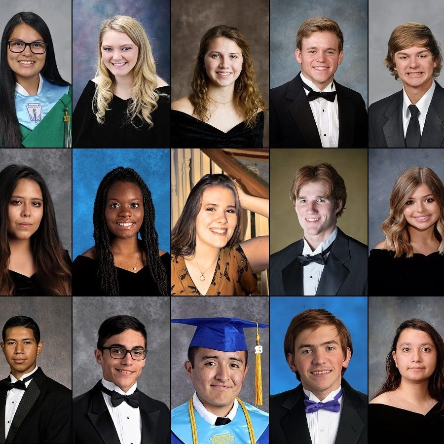 Here's your Abilene, Big Country Class of 2019 valedictorians and salutatorians