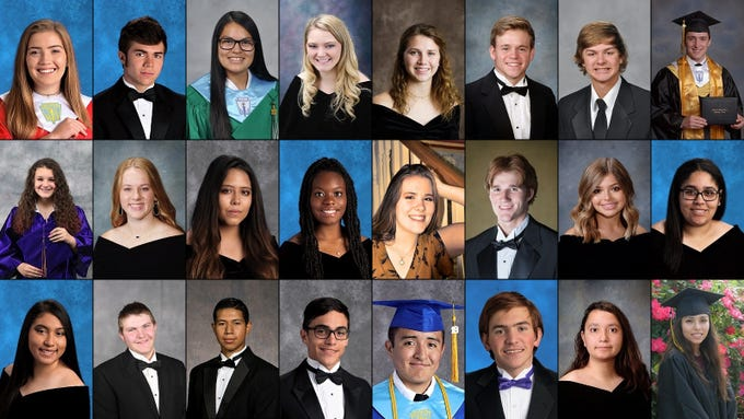 2019 Valedictorians and Salutatorians
