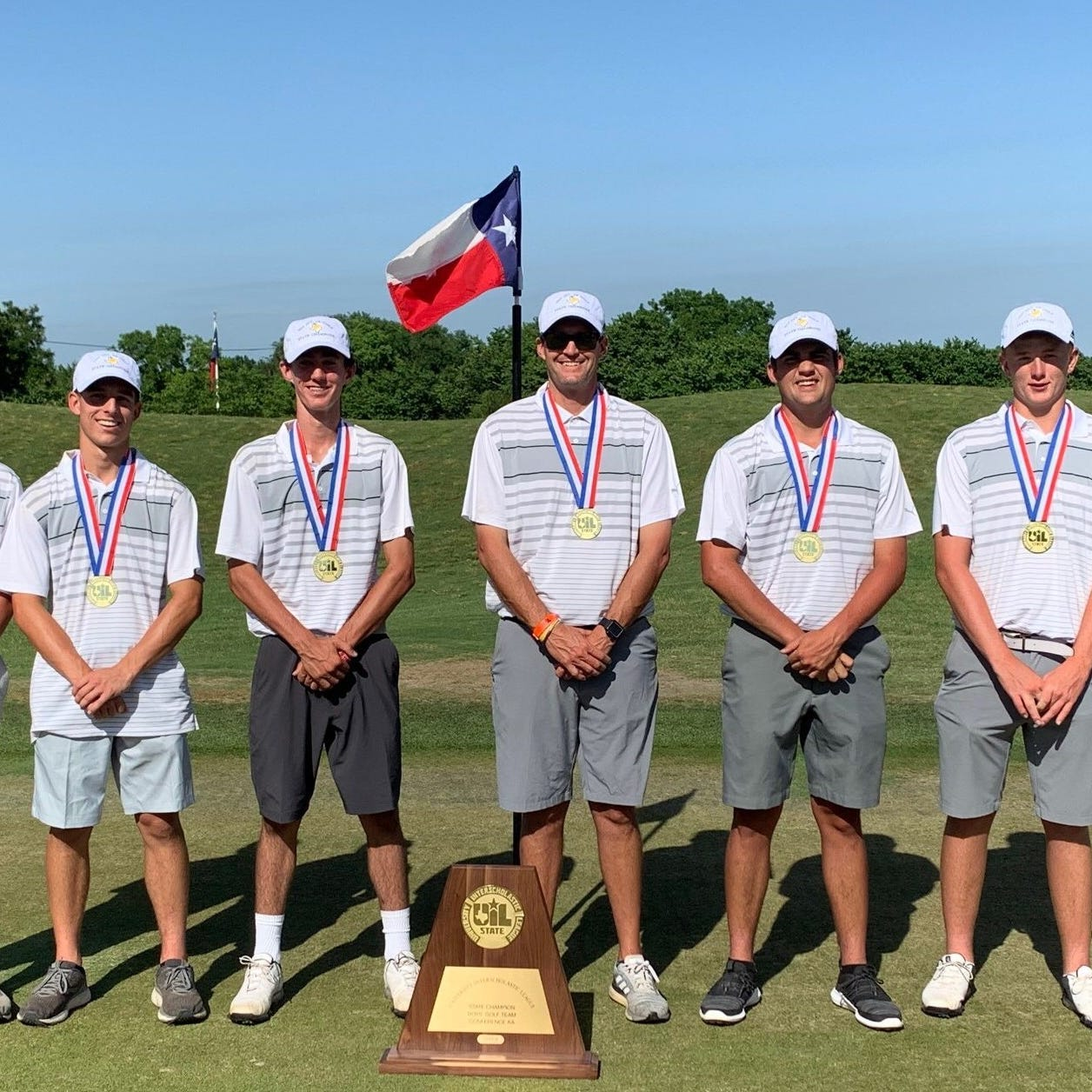 First boys golf state championship a culmination of hard work for Goldthwaite