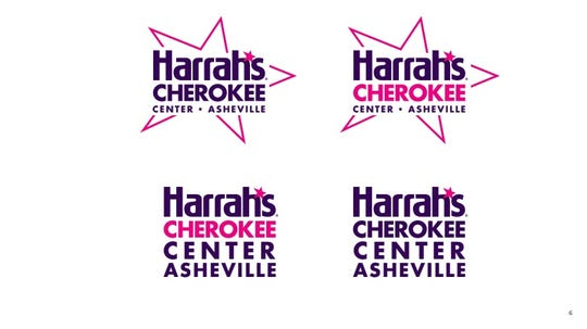 Harrah's Cherokee Casino has submitted a bid for the naming rights of downtown Asheville's performance venue, now known as the U.S. Cellular Center.