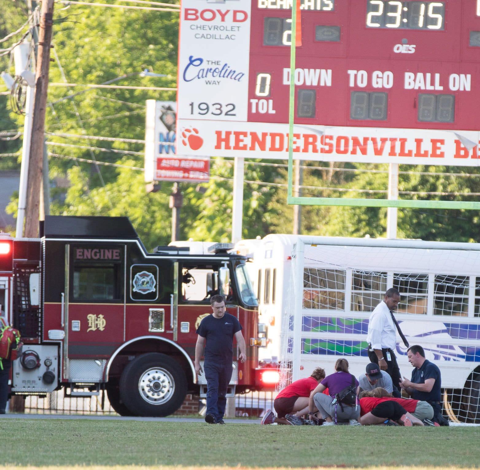 Hendersonville goalkeeper Camryn Coggins released from hospital