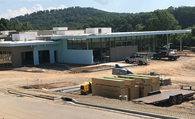 BMW of Asheville will move into this new location off Long Shoals Road this summer.