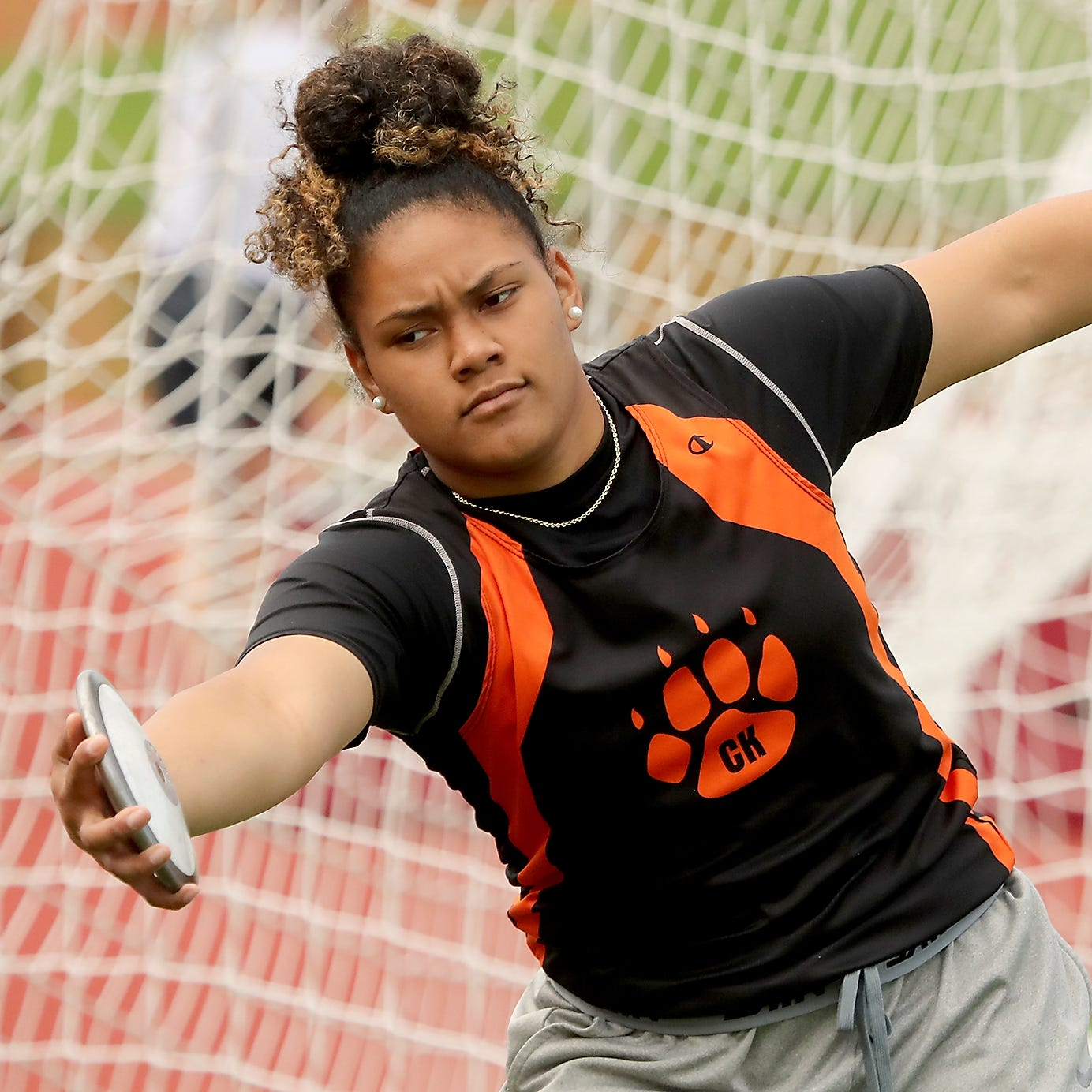 Central Kitsap's Fuiava a championship contender at state track and field meet