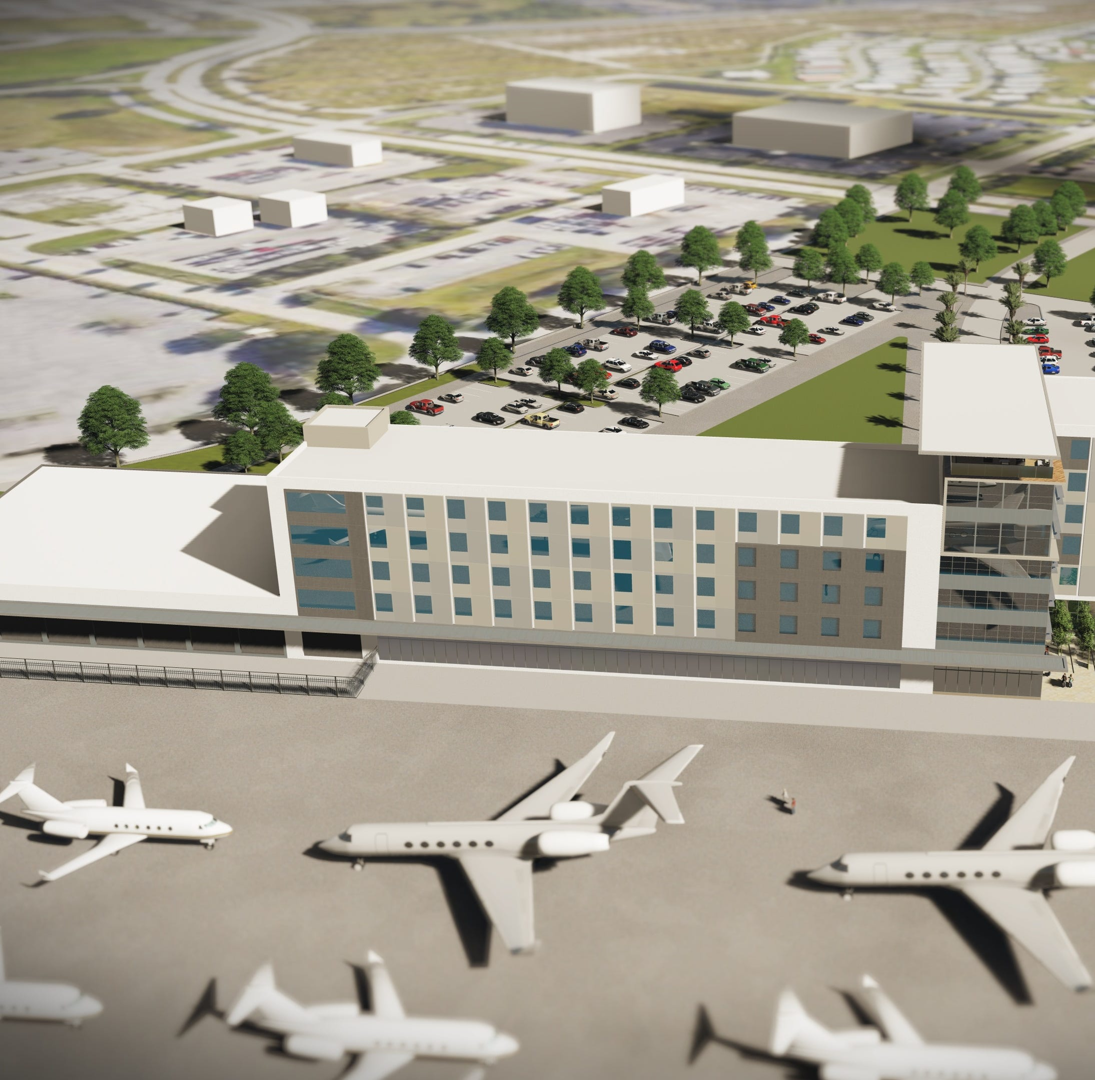 'Fly-in hotel,' conference center, rooftop bar proposed at Orlando Melbourne airport