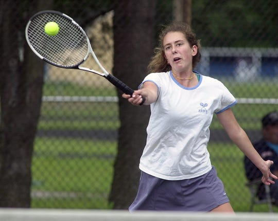 Sara Hughes of South Burlington is the only Vermont high school girls player to capture four individual singles titles.