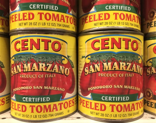 A proposed class action lawsuit challenges the authenticity of San Marzano tomatoes sold by Cento Fine Foods of West Deptford.