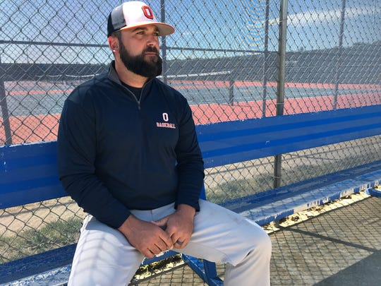 Overbrook baseball coach Greg Himes led the Rams to their first playoff victory since 2014 this year.