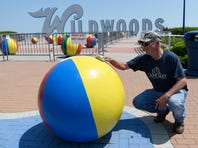 WATCH: Wildwood's iconic beach balls get prepped for summer