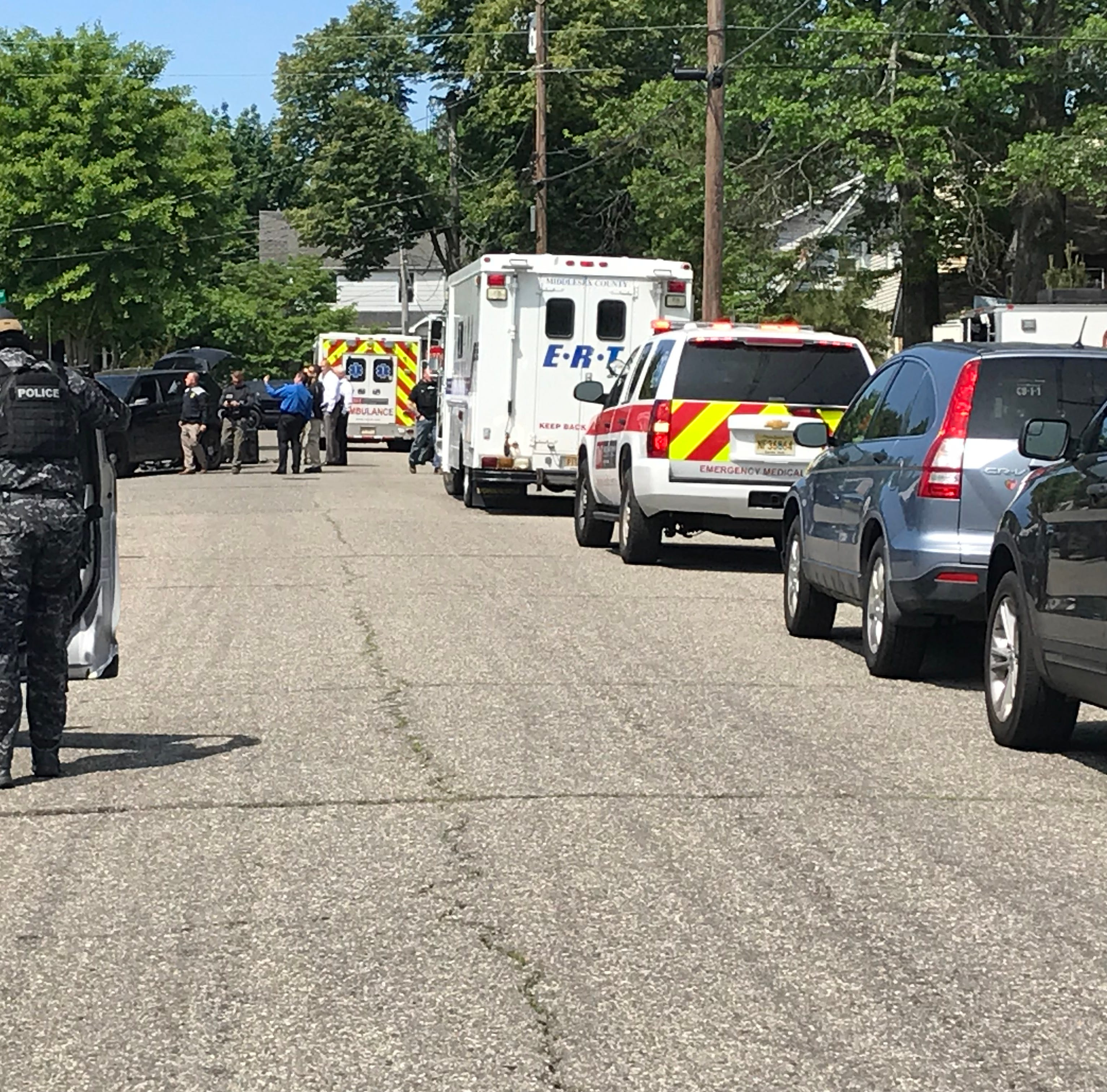 South River barricaded man dead after apparent self-inflicted gunshot wound